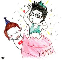 Happy Birthday Yamimash! by irukaluvsdumplings