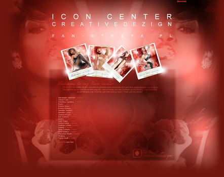 CreativeDezign.fan-strefa.pl // Icon Center. by camilledezign