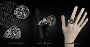Pentagram Ring by Euflonica
