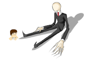 when slender first found me :3 by XOOLunaOOX