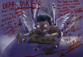 If Castiel had a Diary... by amidarosa