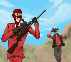 TF2 - Keep Away by SuperKusoKao