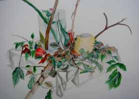 Still life Water color by twinibird