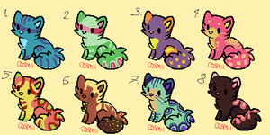 10 point kittens by RubyAdopts