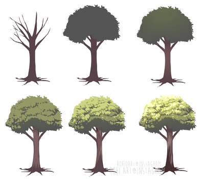 How I Tree: SBS by rohioart