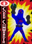 Cobra Commander by AlanSchell