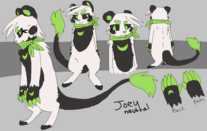 Joey reference 2014 by teliom