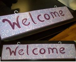 Welcome Sign by MandyDandy-02