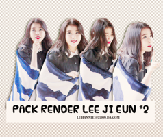 Pack Render Lee Ji Eun #2 by LuHannie1071999