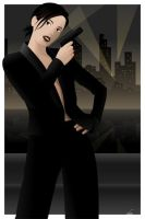 Secret Agent Girl by ekster