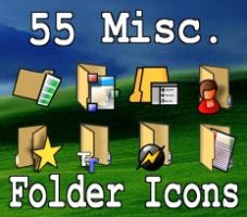 55 Misc Folder Icons by zman3
