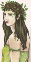 young dryad by oshuna