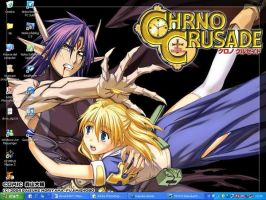 my desktop +Chrno Crusade+ by sioAoi
