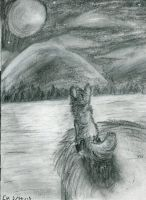 Lakeshore Nights by Sketching-Eclipse