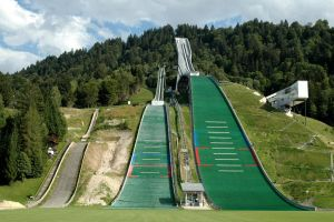 Ski Ramps at Garmisch by BlokkStox
