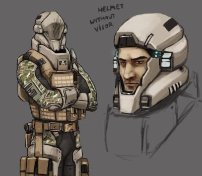 Future Soldier Designs by FonteArt