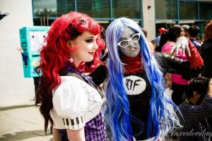 Operetta + Ghoulia by GingerZombeh