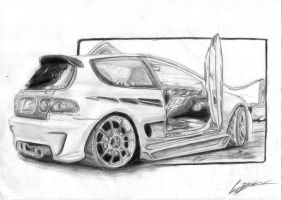 Honda CIVIC HB by can1996