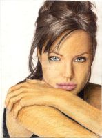 Angelina Jolie by desiry