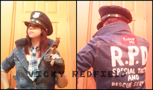 Helena Harper RE 6 Mercenaries cosplay wip 2 by Vicky-Redfield