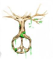 Peace Tree by explotin