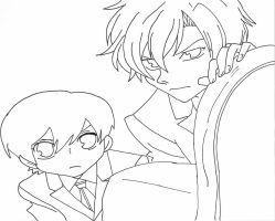 tamaki and Haruhi by Cassidy-Slingby