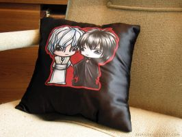 Pillow: SD Sandman Commission by zelas