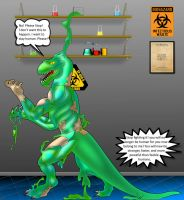 Latex Dino Transformation by MrD66