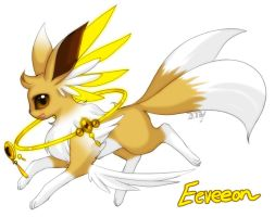 Eeveelution: Eeveeon by Zilleniose