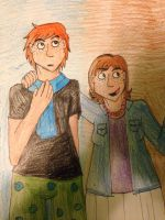 Leo And Lila by IrrelevantFrenchFry