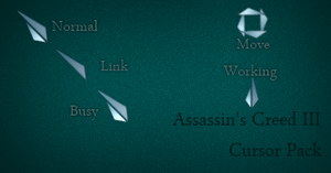 Assassin's Creed III Cursor by Cyberdyne12489