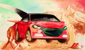 DODGE DART - for the Contest by JUST-inART