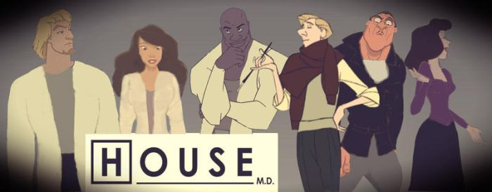 House MD meets Disney by identity511