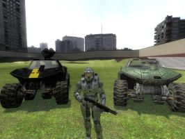 GMod MC and Hogs by Shadow5talker04