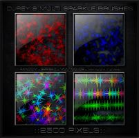 Sparkle Brush Photoshop cs3 by djrey