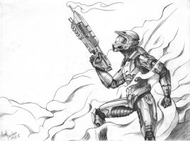 Master Chief by AtomicShrimp