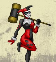 Harley Quinn - Joker's Right Hand by MattFriesen