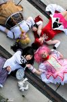 Puella Magi Madoka Magica - Together by SharyNyanko