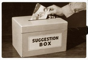 Suggestion Box by Bkl
