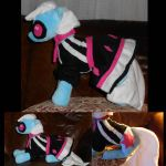 My Little Pony Photo Finish Custom Plush by Sophillia