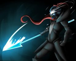 Undyne the Undying by Skecchiart