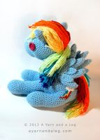 Jumbo Rainbow Dash by SBuzzard