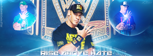 'Rise Above Hate' FB Cover by YeshuDave029