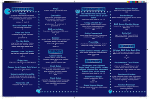 GameWorks Menu - Inside Pages by nenglehardt