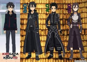 Evolution of Kirito by 3D4D