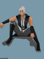 Young Xehanort by schokolate