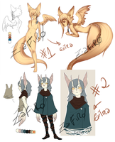 [Adoptables] Old OCs [Closed] by Z-afiro