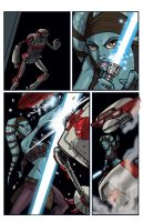Clone Wars 13 Page 4 Colors by Hodges-Art