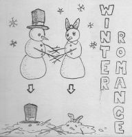 winter romance by Kid-With-The-Hat