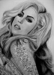 LADY GAGA 11 by AngelasPortraits